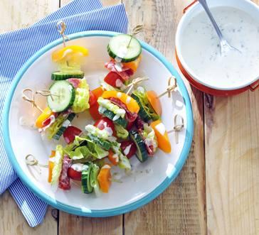 Salad Skewers image