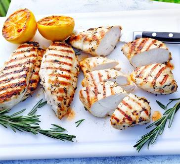 Herb and Garlic–Marinated Chicken image