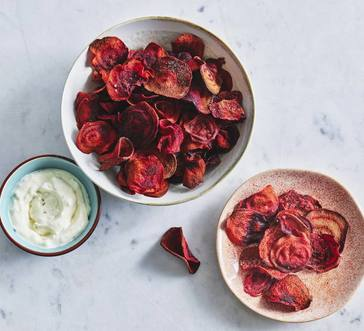 Air-Fried Beet Chips image