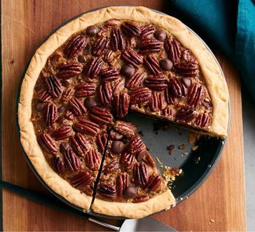 Dark Chocolate Pecan Pie image