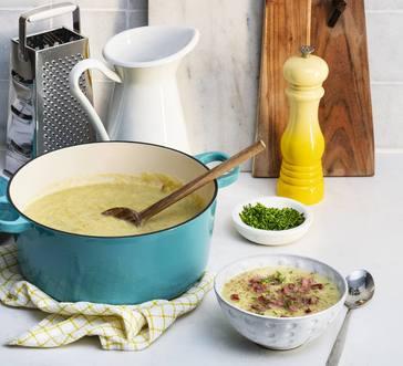 Potato-Leek Soup image