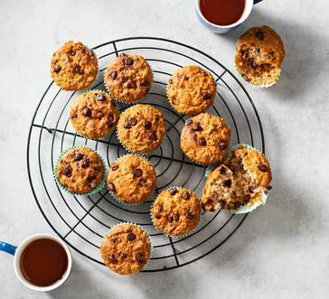 Banana–Chocolate Chip Muffins image