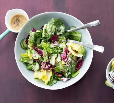 Green Salad with Mustard Vinaigrette image