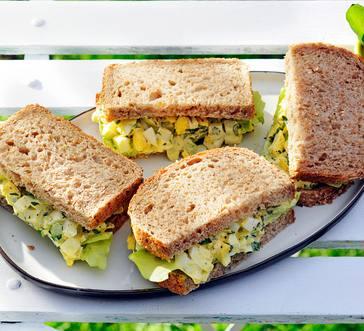 Herbed Egg Salad Sandwiches image