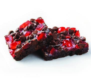 Chocolate Covered Cherry Brownies image