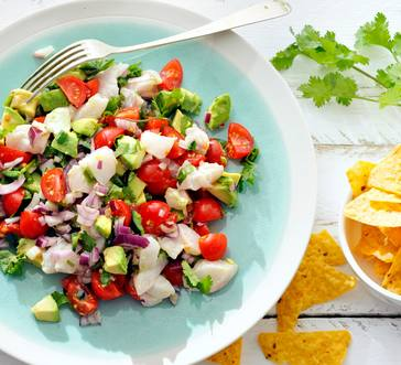 Ceviche with Cherry Tomatoes image