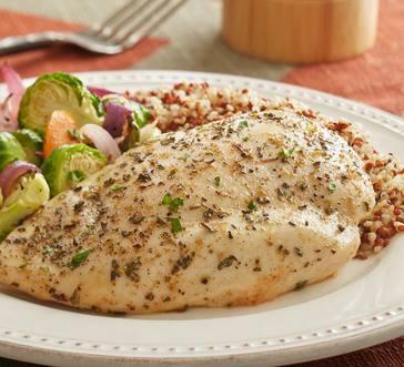 Herbed Chicken with Harvest Vegetables image