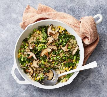 Mushroom and Veggie Fried Rice image
