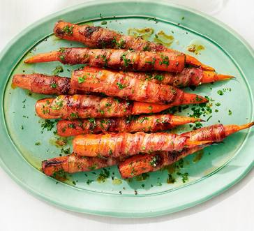 Bacon-Wrapped Carrots image