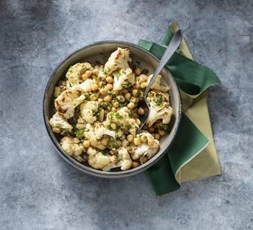 Roasted Cauliflower Salad with Chickpeas image