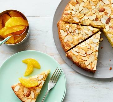 Almond Olive Oil Cake image