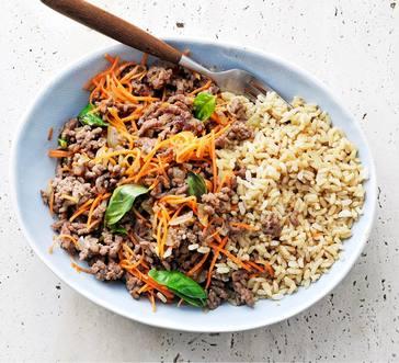 Basil-Beef Stir-Fry image