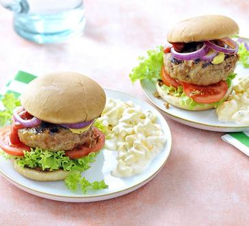 Grilled Chicken Burgers image