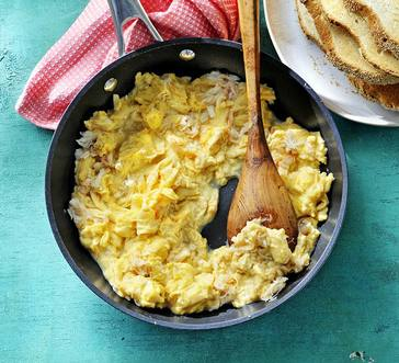 Soft Scrambled Eggs with Crab image
