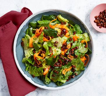 Salad with Chorizo and Pickled Carrots image