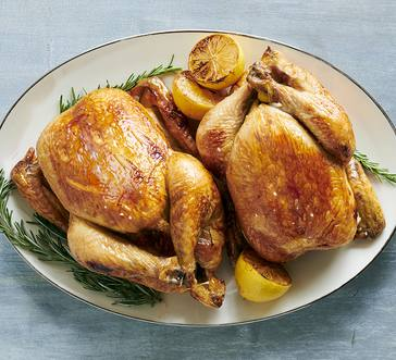 Honey-Lemon Roast Chicken image