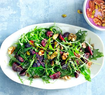 Arugula Salad with Beets image