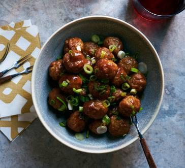 Sweet and Savory Mini Meatballs image