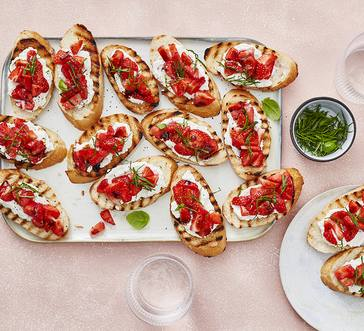 Strawberry Balsamic Bruschetta image