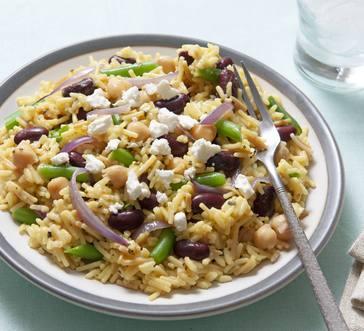 3 Bean Rice Salad image