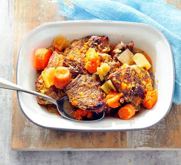 Old-Fashioned Pot Roast with Fall Veggies image