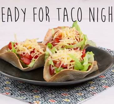 Mini Taco Salads image