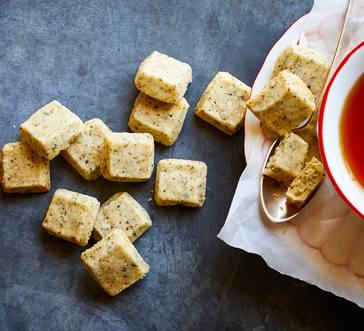 Earl Grey Shortbread Cubes image