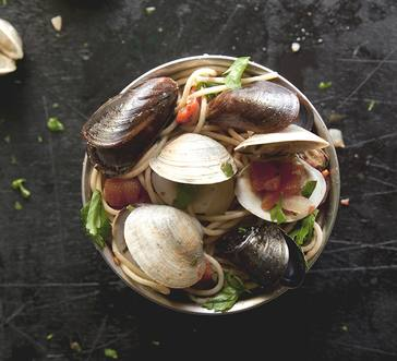 Mussels and Clams Marinara image