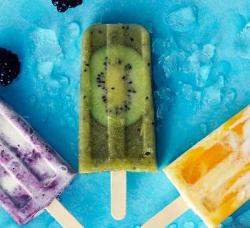 Kiwi-Lemonade Pops image