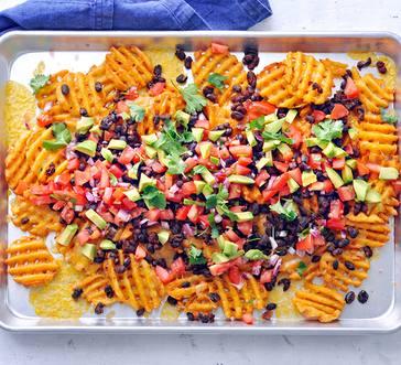Waffle Fry Nachos image