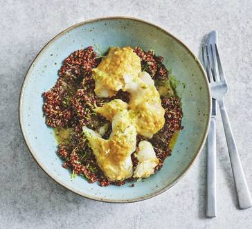Baked Cod with Miso Butter image