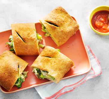 Broccoli and Mozzarella Stromboli image