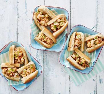 Mini Buttery Shrimp Rolls image