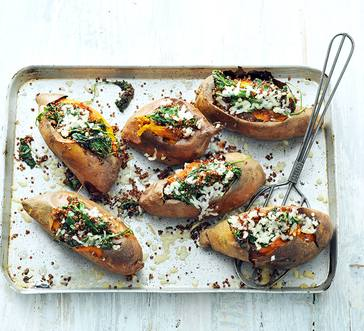Stuffed Sweet Potatoes image
