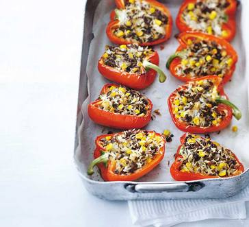Stuffed Peppers with Corn image