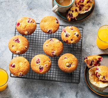 Cranberry-Orange Muffins image
