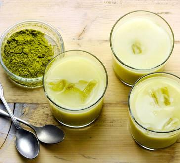 Iced Green Tea Latte image