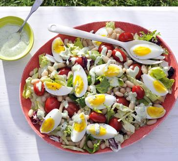 White Bean Caesar Salad image