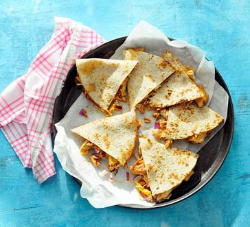 Barbecue Chicken Quesadillas image