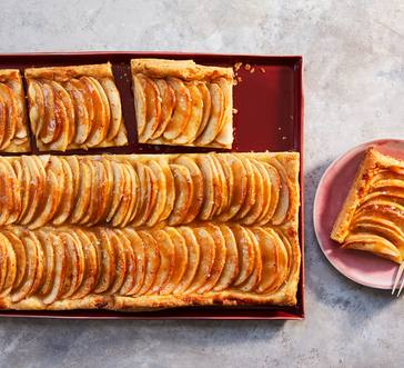 Apple Tart with Tahini Caramel image