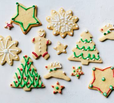 Christmas Cutout Cookies image