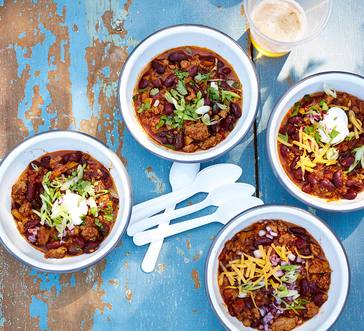 Tailgaters Turkey Chili image