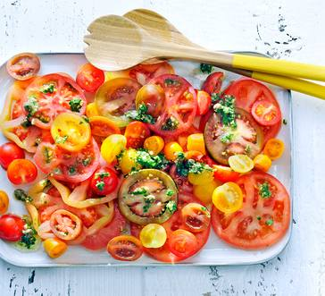 Marinated Tomato Salad image