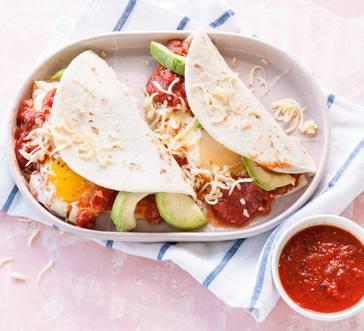 Huevos Rancheros Tacos image