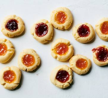 Thumbprint Cookies image