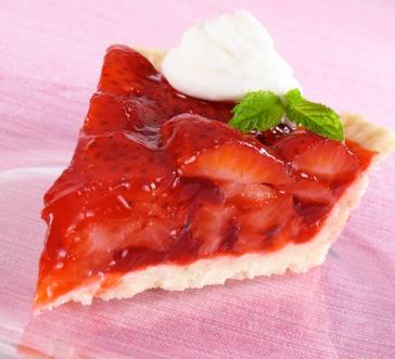 Glazed Fresh Berry Pie image