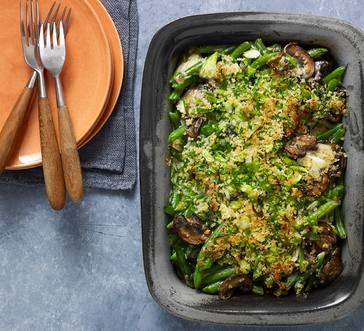 Green Bean Casserole with Mushroom Sauce image