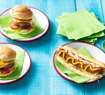 Gluten-Free Hamburger and Hot Dog Buns image