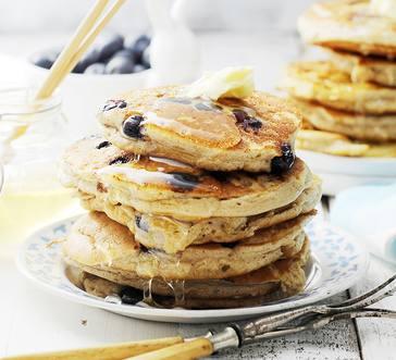 Gluten-Free Blueberry Pancakes image