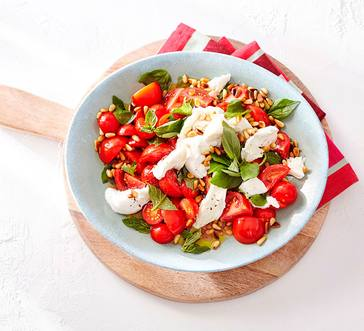 Caprese Salad with Burrata Cheese image